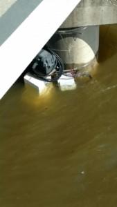FL50 profiler underwater.