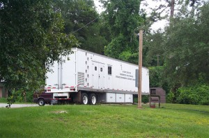 USACEHR mobile laboratory, which houses the Legacy project equipment.