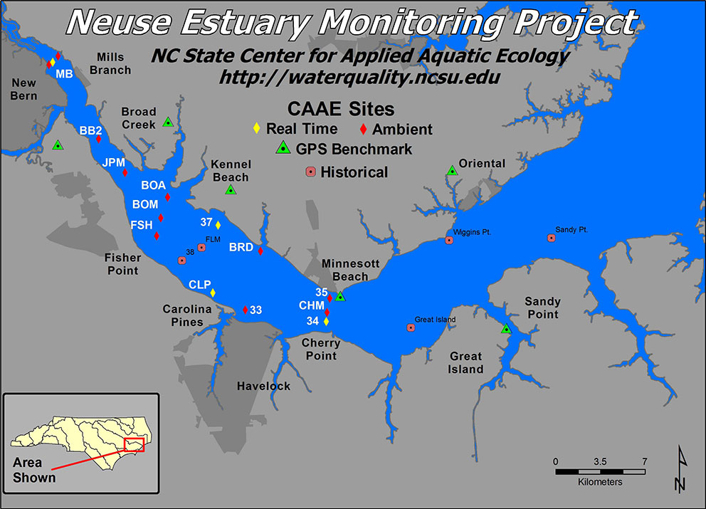 neuse-estuary-monitoring-project